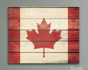 canada flag – Etsy