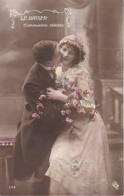 Cartes postales anciennes: mariage