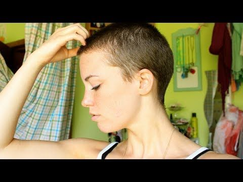 I SHAVED MY HEAD! Story + Hair Growth Journey #1