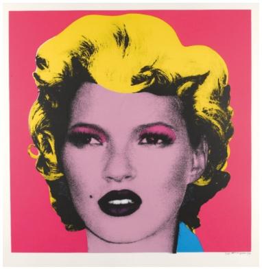 Banksy - Kate Moss