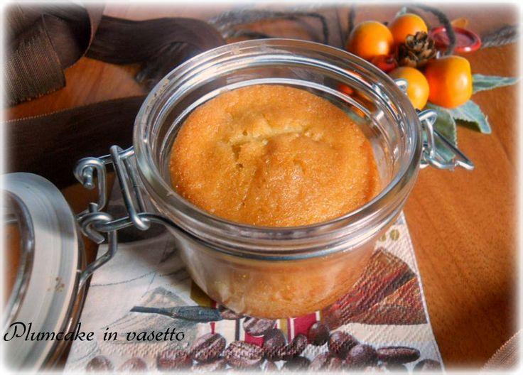 plumcake in vasetto