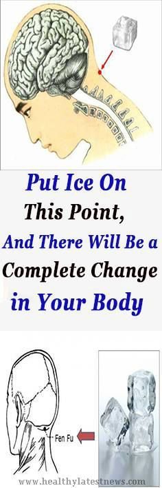 Put Ice On This Point, And There Will Be a Complete Change in Your Body