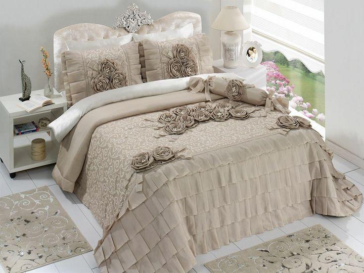 les 20 meilleures images du tableau couvre lit proven ale sur pinterest linge de maison lits. Black Bedroom Furniture Sets. Home Design Ideas