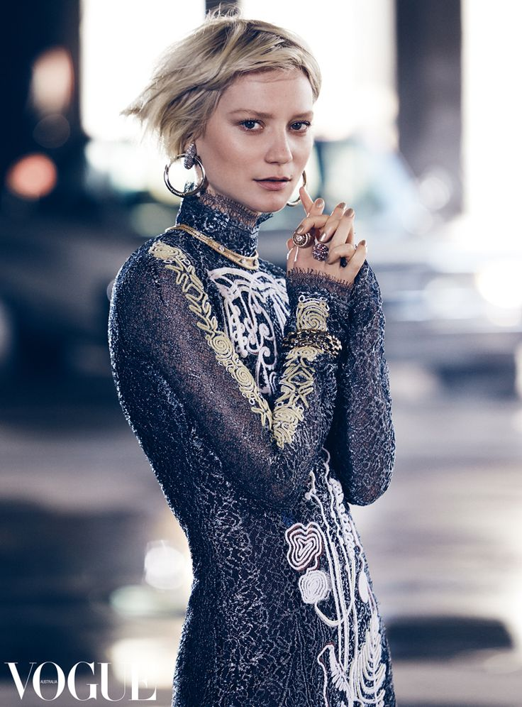 VOGUE Australia  Alice through the looking Glass' Mia Wasikowska by Nicole Bentley x the July 2016 issue of Australian Vogue