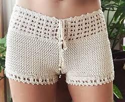 Image result for short tejidos a crochet