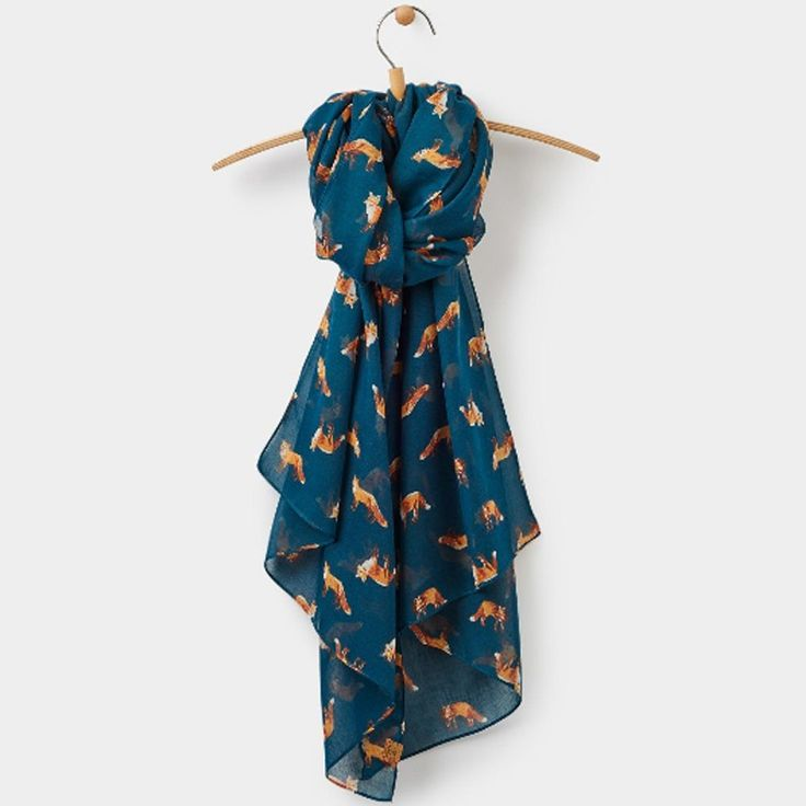Joules Wensley Parsley Fox Scarf | The Cheshire Horse