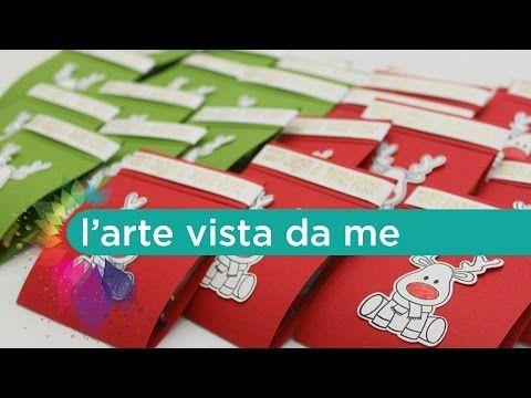 Pensierini di Natale fai da te per Bambini - Packaging - Scrapbooking tutorial - YouTube