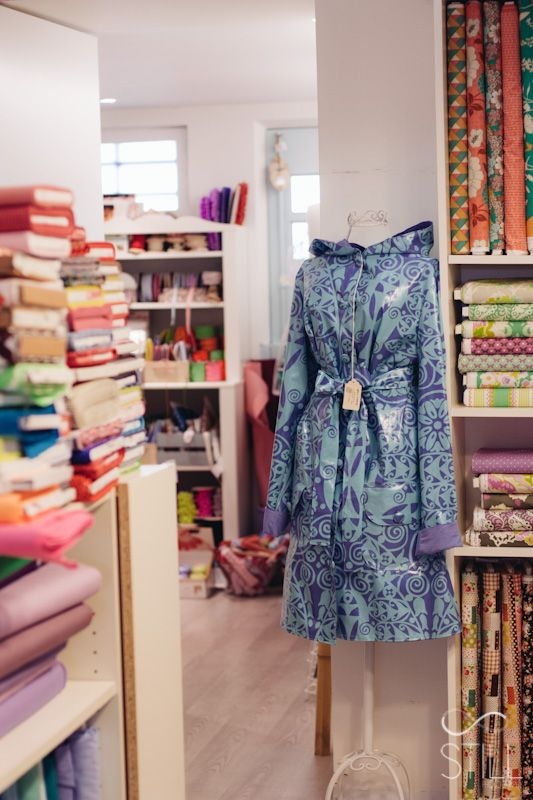 Pretty Places // At Home Hobby RAINCOAT BY SALACO CRAFT