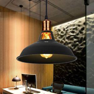 Retro Chandelier Industrial Vintage Kitchen Cafe Bar Lamp Hanging Ceiling Light