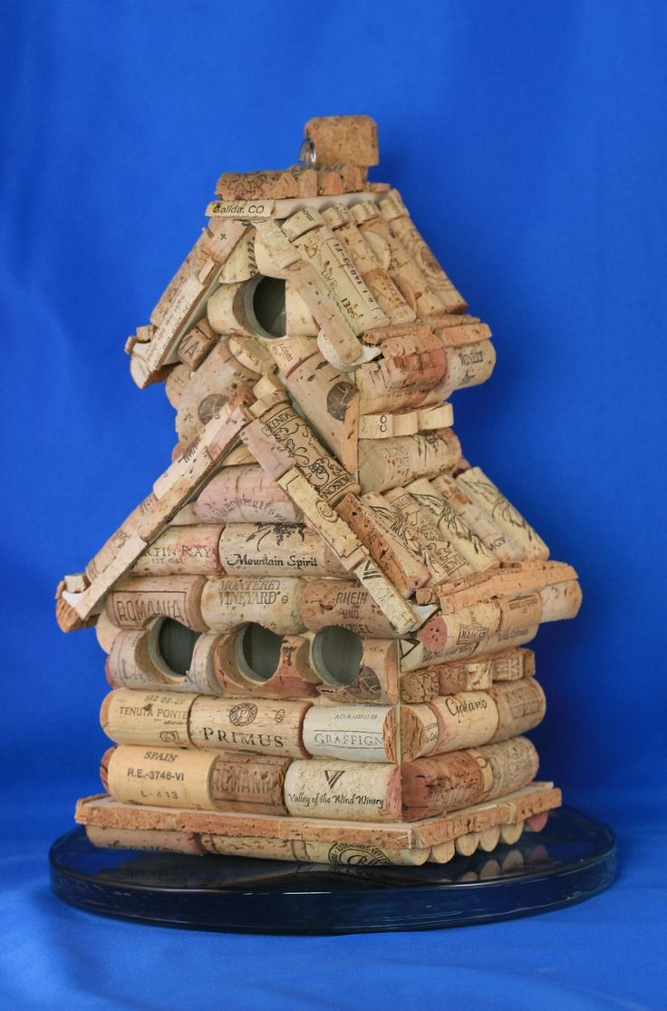 best 20+ wine cork birdhouse ideas on pinterest | bird house
