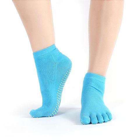 Mega Grip Yoga Toe Socks (9 colors)