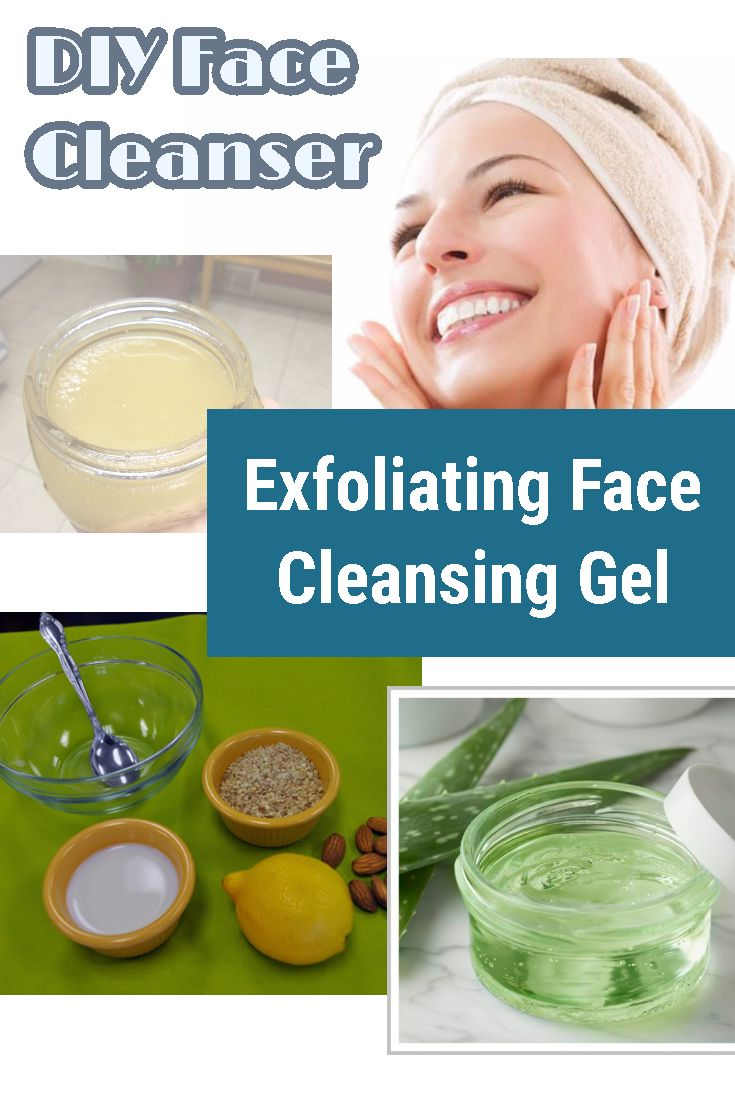 Diy your own natural face cleanser that best suit your personal skin needs