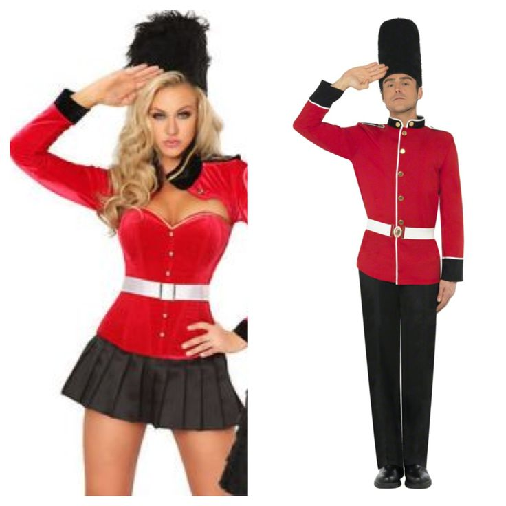 His And Hers Royal Guard Costumes Costume Party