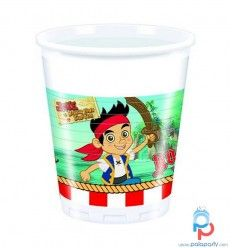 Bicchieri Pirata Jake Disney, 8 pezzi