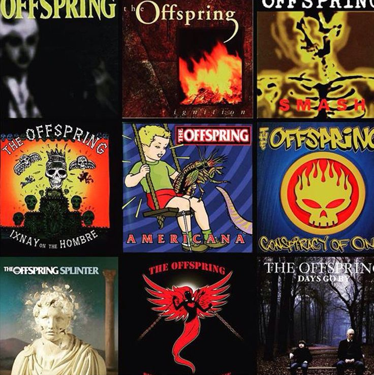 My 90 Music Offspring Alternative Rock Cool Bands Pink Floyd Greatest Hits