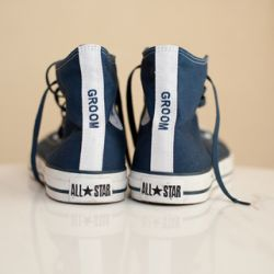 This Portland couple took their theme very seriously and we LOVE what they did! Especially the GROOM's converse! by Yasmin Khajavi