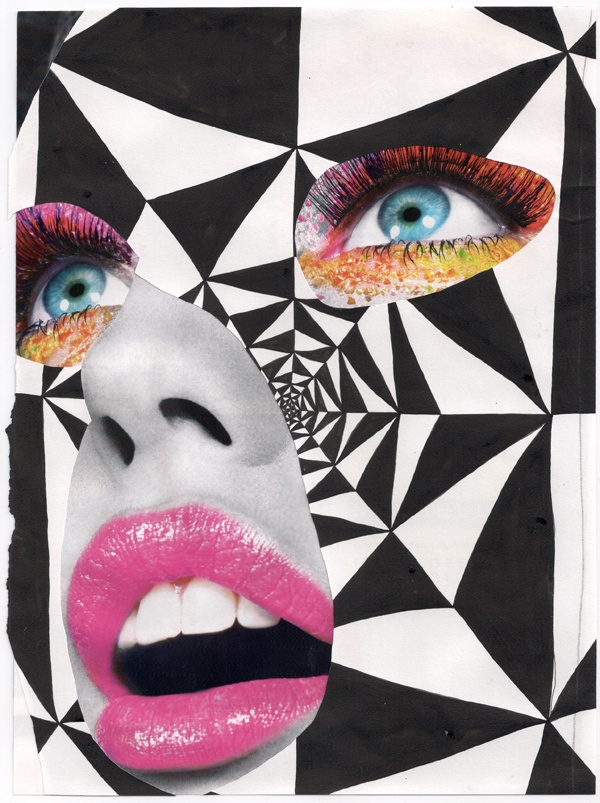 Untitled (vortex mask) - Bryan Schnelle
