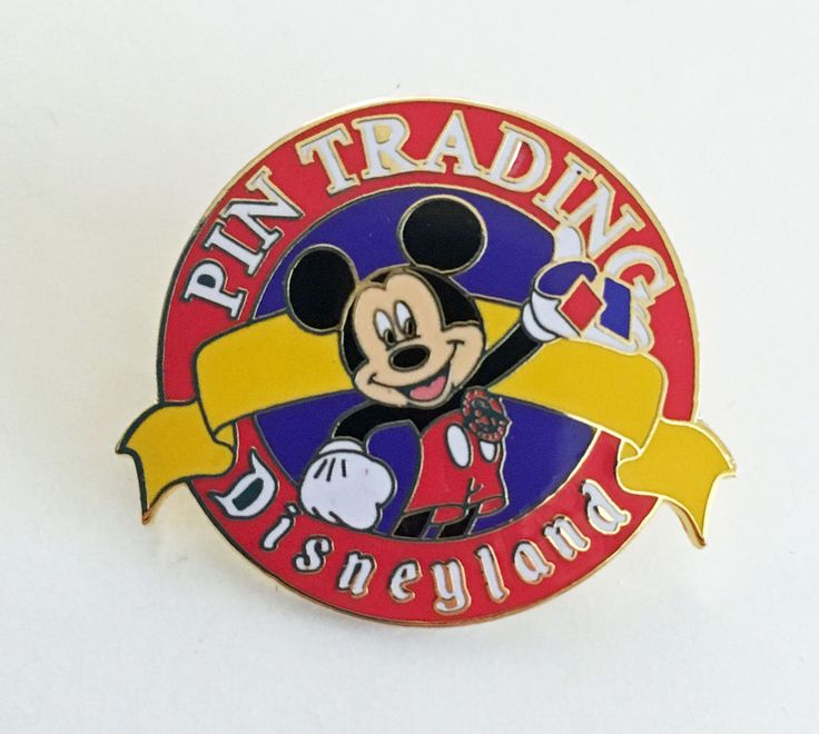 Disneyland Pin Trading Mickey Mouse Authentic Disney Cast Member Pin from 2000 #Disney