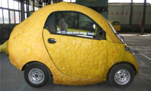 Lucy's brother may be coming for a visit. In a lemon car? Okay, not this kind of lemon car...