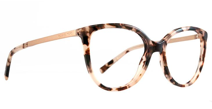 *Summer 2017 Pick* With these Michael Kors eyeglasses, you are a trendsetter. Expressive lines add character to the classic approach, making these a must have for women.