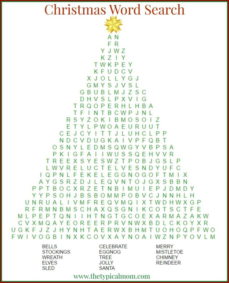 Best 25+ Christmas word search printable ideas on Pinterest