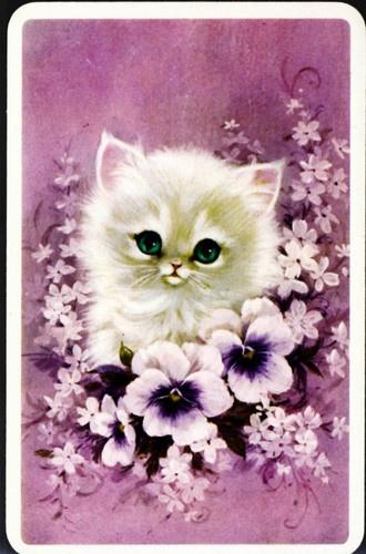 Vintage greetings card.