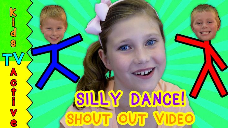 SILLY DANCE and HELLO to all countries. Shout Out to 5 lucky people!