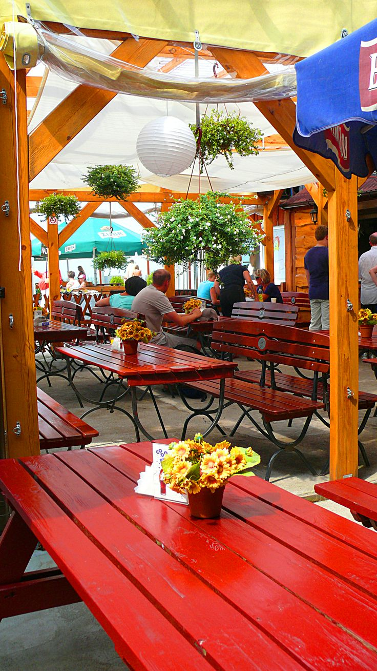 Fish port, market and restaurants with fresh and smoked fish - Miedzyzdroje, Poland
