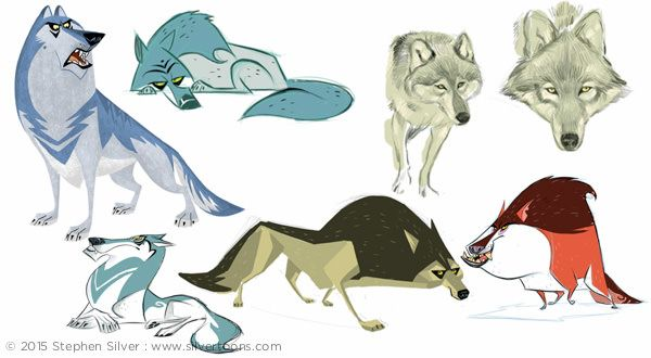 Character Design Portfolio Examples : Animals and creatures stephen silver