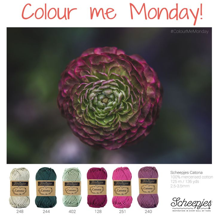 Brought to you by www.scheepjes.com. Each Monday we release a new Inspirational Snapshot to help you plan your knit and crochet projects! #Scheepjes #Scheepjeswol