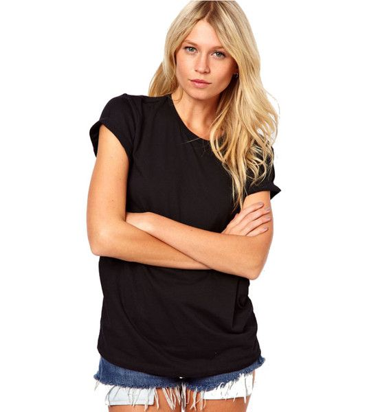 classic black t-shirt, now chop it up and turn it into everything you wish it was, this is our Angel Wings Black T-shirt! Business in the front and party in the back, these fun cutouts tell the world you're the perfect angel. #black #tshirt #angeltshirt #cutouttshirt #cutouttop