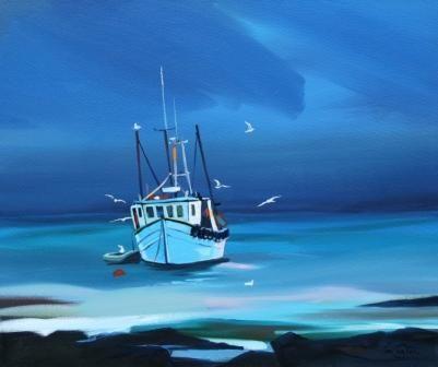 Till Tomorrow by Scottish Contemporary Artist Pam CARTER