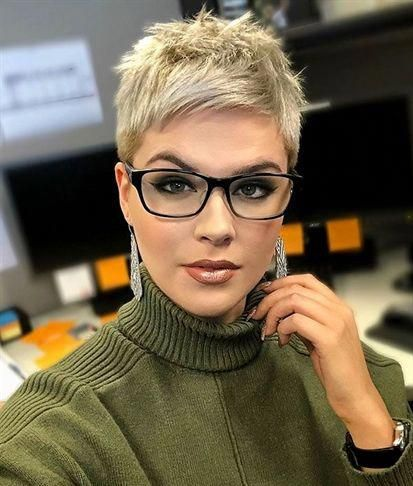 Pixie-Frisuren: kurz, lang, länger, blond, sehr, süß, geschichtet, kantig, mittel, strukturiert, unterstrichen, grau, unterstrichener Elf… #acconciaturesposa #capell ...