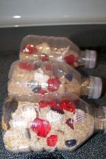 Pirate Theme for Preschool Pirate treasure bottles. http://www.greatestresourcechildcare.com