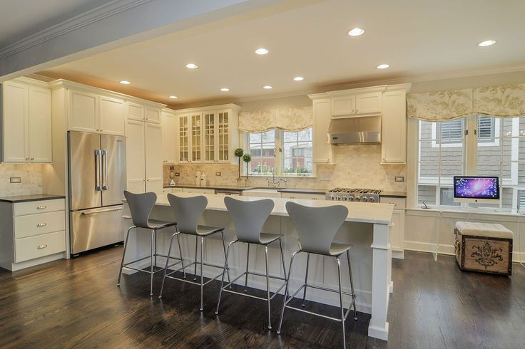 Kitchen Remodeling Ideas White Cabinetry Granite Downers Grove Lisle IL Illinois Sebring Services