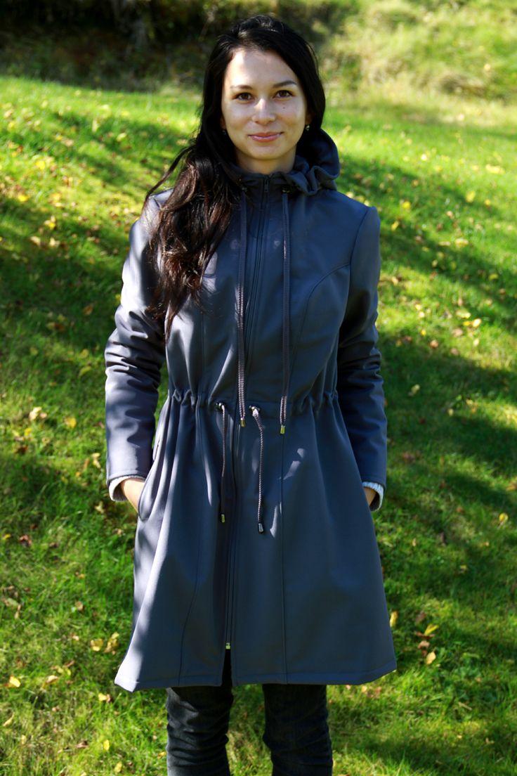 Střih a návod na dámský kabát 34 - 52