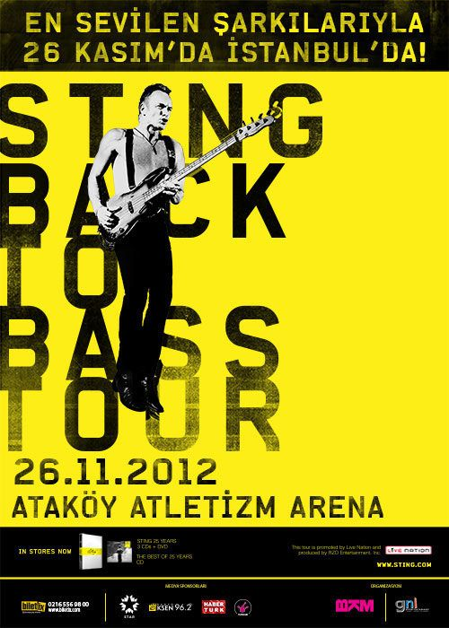 Sting / 26 Kasım 2012