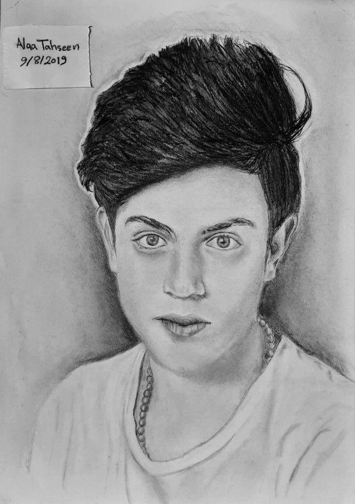 رسم علاء تحسين استاروت Male Sketch Male Art