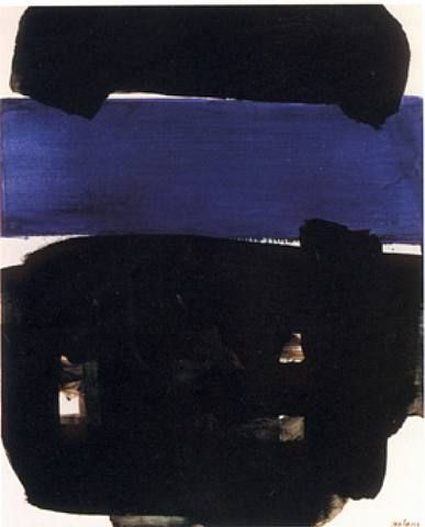 Peinture 23 Mai 1969 - Artist: Pierre Soulages  Completion Date: May 1969 Style: Tachisme Genre: abstract painting Technique: oil on canvas