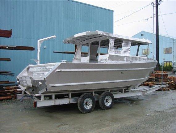 Aluminum Boat For Sale Alaska | build your own pontoon boat trailer