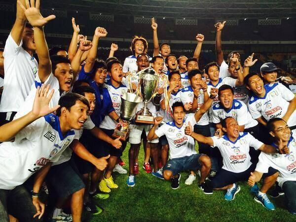 WINNER in competition governor cup jakarta