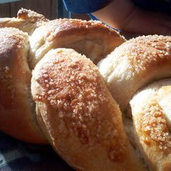 Finnish Pulla (cardamom. makes 3 loaves)