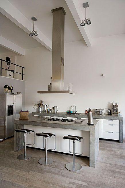Lichte loft appartement verkocht in Amsterdam | Inrichting-huis.com