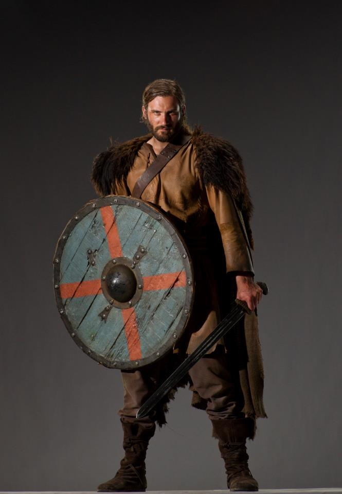Rollo Lothbrok on Vikings