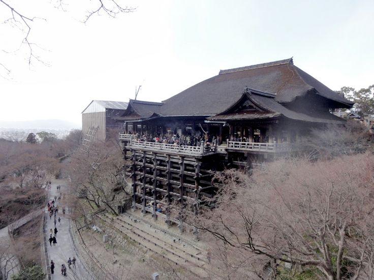 Kiyomizu-dera Tempel in Kyōto, Japan