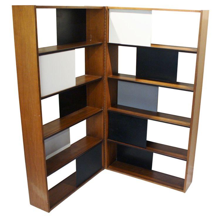 Evans Clark For Glenn Of California Room Divider Bookcase