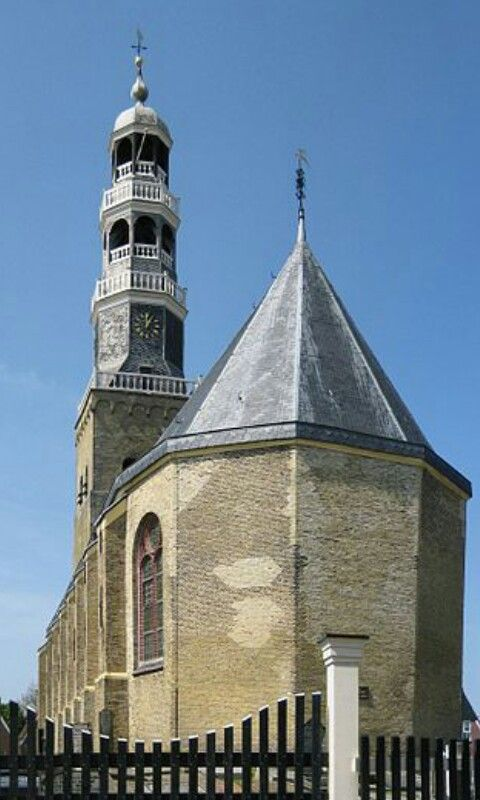 Church Hindelopen year 1593 (Friesland) The Netherlands
