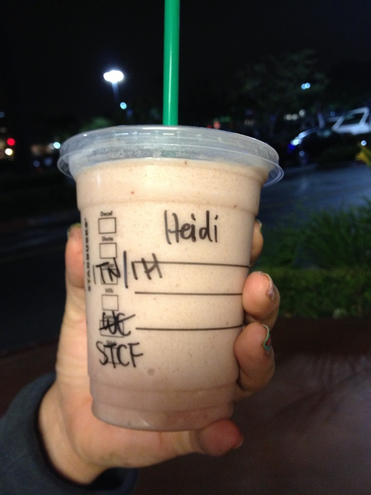 Starbucks Frap that taste like Captain Crunch Berries!  Order a Strawberry Creme Frap with one pump toffee nut and 1 pump hazelnut!!! So good.  Strawberry Creme Frap + toffee nut pump + hazelnut pump = Captain Crunch Berries