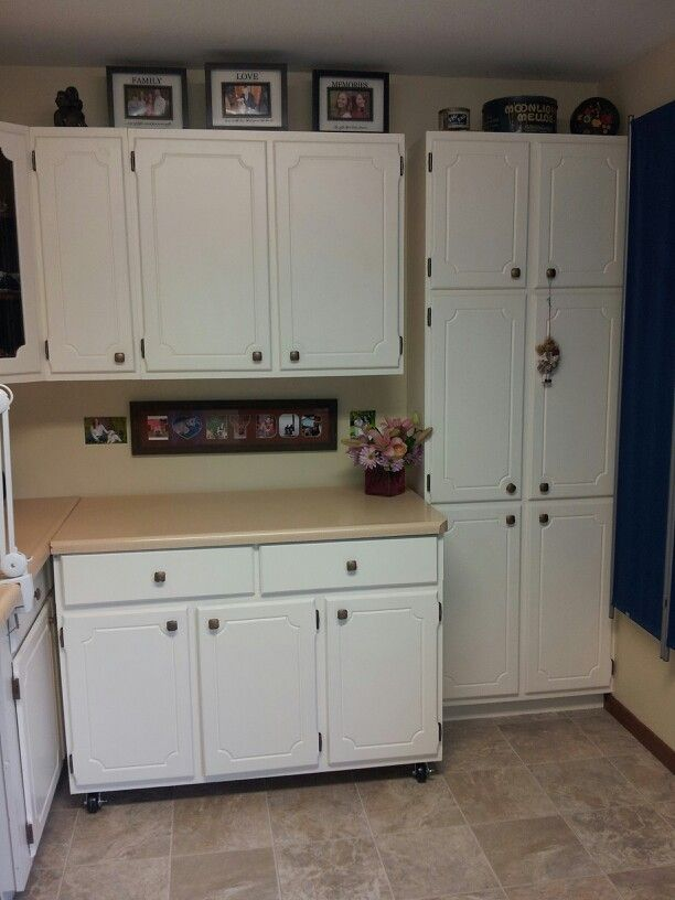 Pantry to the right
