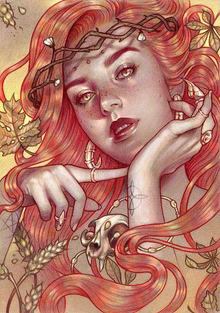 'Samhain' by Marta Adán